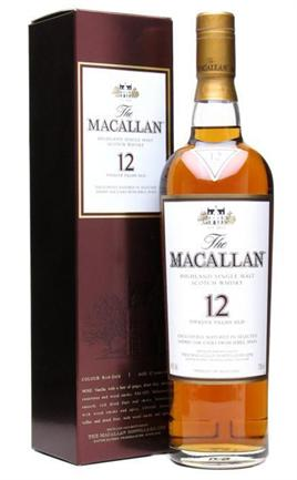 The Macallan Scotch Single Malt 12 Year